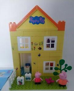 Peppa Pig Peppas House Construction Set Duplo Compatible 06039 Retired