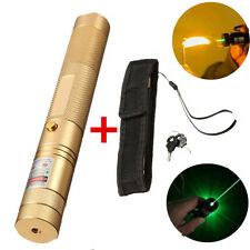 Adjustable Green Laser Pointer Lazer Pen Beam Light Focus 532nm 1mw High Power