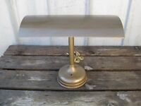 Vintage Atomic Age Industrial Commercial Drafting Desk Lamp Mid Century B8241