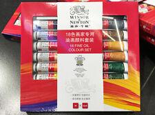 Winsor & Newton Artist Quality Oil Color Paint Set -18 Tubes x 10 ml