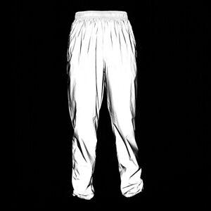 Men Women Sports Cycling Pants Jogging Full Reflective Hip-hop Dance Trousers