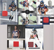 HUGE SPORTS CARD COLLECTION DEMARYIUS THOMAS GAME USED LOT ROOKIE BRONCOS