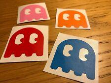 RETRO PAC MAN GHOST Stickers / Decal / Logo diecut vinyl Monsuta Monsters Namco