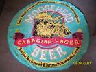 "MOOSEHEAD CANADIAN LAGER BEER LARGE ROUND TOWEL 60"" NICE"