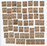 USA SC # 684 HARDING 1 1/2 Cent Stamps 1930 LOT OF 170 Used  FREE USA SHIPPING