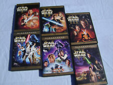 Star Wars Complete Saga  1-6 IV V VI LIMITED EDITION THEATRICAL Trilogy DVD LOT