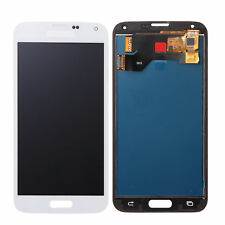 White For Samsung Galaxy S5 i9600 SM-G900F G900 LCD Display Touch Screen+Tools
