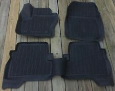 2013-2019 Escape OEM Ford Tray Style Molded Black Rubber Floor Mat Set 4-pc NEW