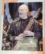 Tony Levin Signed Peter Gabriel Autograph King Crimson Stickmen COA