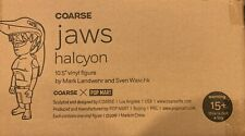 """COARSE TOYS JAWS HALCYON 10.5"""" VINYL FIGURE LIMITED EDITION IN HAND SOLD OUT"""