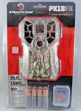 Stealth Cam PX18FX 14MP Camouflage Scouting Wildlife Trail Game Camera PFX18CMO
