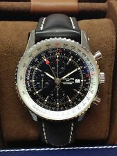 Breitling Navitimer A24322 Chronograph GMT 46 BOX & PAPERS 2019 UNWORN