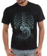 Aliens X-ray Movie Film Fan Unisex T-Shirt, Alien, Prometheus, Horror Movie Tee