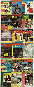 Lot of 18 Muhammad Ali The Ring Magazine Issues 1975 1976 1977 1978