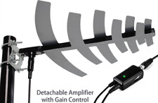 TV Antenna Amplified Best Long Range Outdoor HD Digital Rotating Motor RC Home