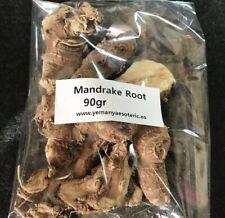 WHOLESALE Mandrake Root Wiccan Spells, Ritual! 90gr Raiz de Mandragora
