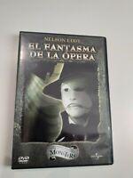 DVD   el fantasma de la opera nelson eddy  dvd