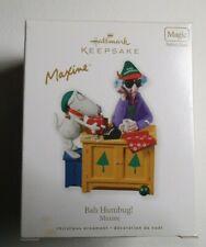 2010 Hallmark MAXINE Bah Humbug Magic Sound ornament