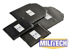 Ballistic Panel Bullet Proof Plate Backer Body Armor Lvl IIIA 3A 10x12 6x8 Pair