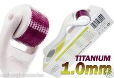 (540 Needles) MicroNeedle Dermaroller System White 1.0mm Anti-aging Wrinkles TMT