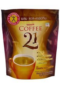 Naturegift Coffee 21 With L-Carnitine Vitamins Weight Loss Formula 10 Sachets
