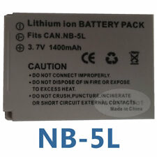 Battery Pack for NB-5L Canon Digital IXUS 90 95 870 900 Ti IS PowerShot SD700 IS