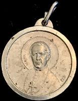 Vintage Catholic Bishop John Neumann Silver Tone Religious  Medal