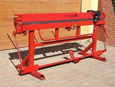 Piegatrice manuale per lamiera RED PLUS-2200/0.8mm + TAGLIERINA MANUALE A RULLI
