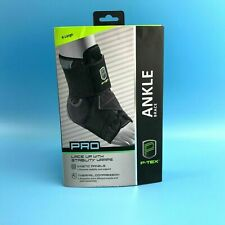 New P-Tex Lace Up Ankle Brace With Stability Wraps Size X-Large #9705