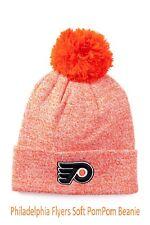 Philadelphia Flyers American Needle Orange PomPom Beanie NHL Hockey B77 NWT