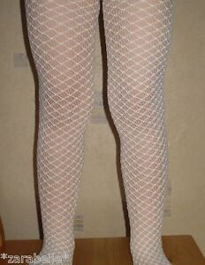 Baby Girl White Ivory Black Lace Christening Occasion Tights 0-6-12 3-4-5-7-8-10