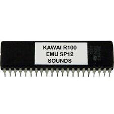 KAWAI R100 R50 - EMU SP12 SP-12 SOUNDS Eprom Vintage Drum Machine