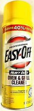 (3) THREE Cans of Easy Off Professional Heavy Duty Oven & Grill Cleaner 24oz
