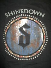 "2012 SHINEDOWN ""Amaryllis"" 3/27/12 Concert Tour (XL) T-Shirt BRENT SMITH"