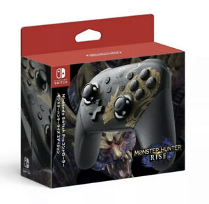 NEW PREORDER Nintendo Switch Limited Edition Monster Hunter Rise Pro Controller