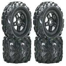 "Pro-Line 1103-13 3.8"" Mounted Big Joe Tires & Wheels 17mm For E-Maxx Summit Revo"