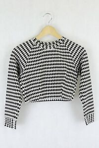 American Apparel Print Cropped Top M by Reluv Clothing