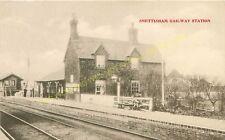 Snettisham Railway Station Photo. Dersingham - Heacham. Hunstanton Line. (2)