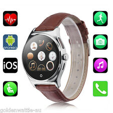 Bluetooth Smart Wrist Watch Phone Mate with Heart Rate Monitor Fitness Tracker