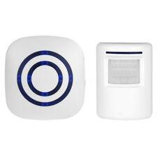New Wireless Driveway Door Bell Patrol Motion Sensor LED Alert Alarm System