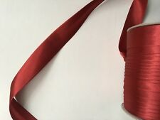Bias Binding Tape 25 mm Width Polyester Satin 1 / 5 / 10 metres Sewing Craft