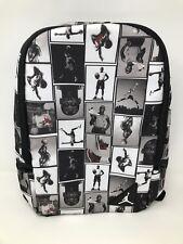 NWT NIKE AIR JORDAN BLACK RETRO PHOTO REELS BASKETBALL BACKPACK LAPTOP BAG