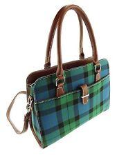 Ladies Mackay Tartan Handbag With Shoulder Strap TB7009