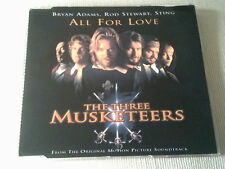 BRYAN ADAMS, ROD STEWART & STING - ALL FOR LOVE - UK CD SINGLE