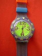 SWATCH SCUBA SPRAY UP - SDN103 - 1992 - NUOVO NEW + PILA GRATIS