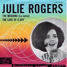 7inch JULIE ROGERSthe wedding HOLLAND FAVORIETEN EXPRES EX+   (S0202)