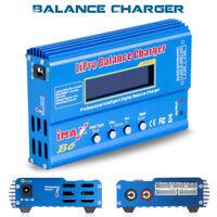 IMAX B6 80W LCD Screen Digital RC Lipo NiMh Battery Smart Balance Charger T XT60