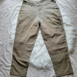 Columbia Hunting Brush Pants Polyester Cotton Men's 40x32* Olive Green