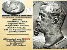 Napoli/Due Sicilie-Regno d'Italia (A.Della Rovere) 1861