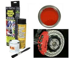 E-Tech etech Brake Caliper / DRUMS & ENGINE BAY Paint KIT  GLOSS Red